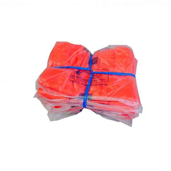 HAND PLASTIC 12X13 RED (20) IKAT x 10