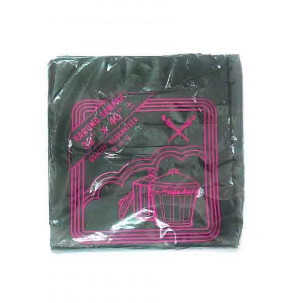 PLASTIC SAMPAH (L) 32X40 x 30PCS