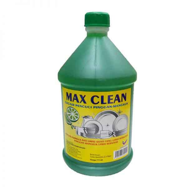 SABUN CUCI MAX CLEAN 2.5L