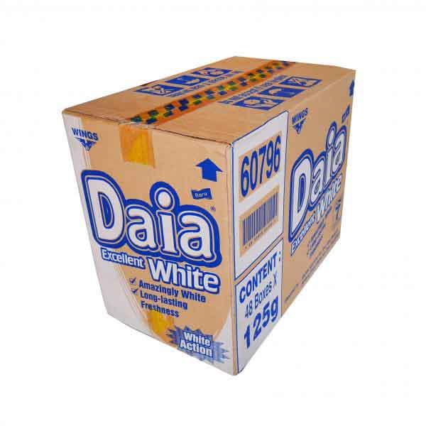 SABUN DAIA WHITE 125G x 48