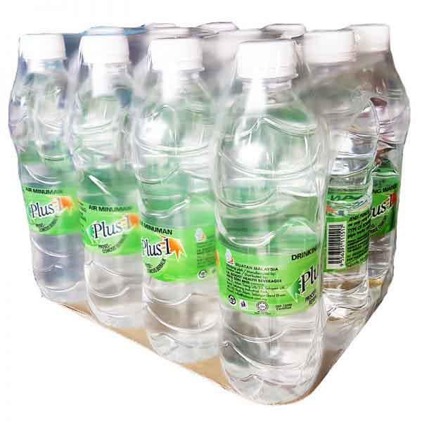 PLUS 1 R.O. DRINKING WATER 500ML x 12