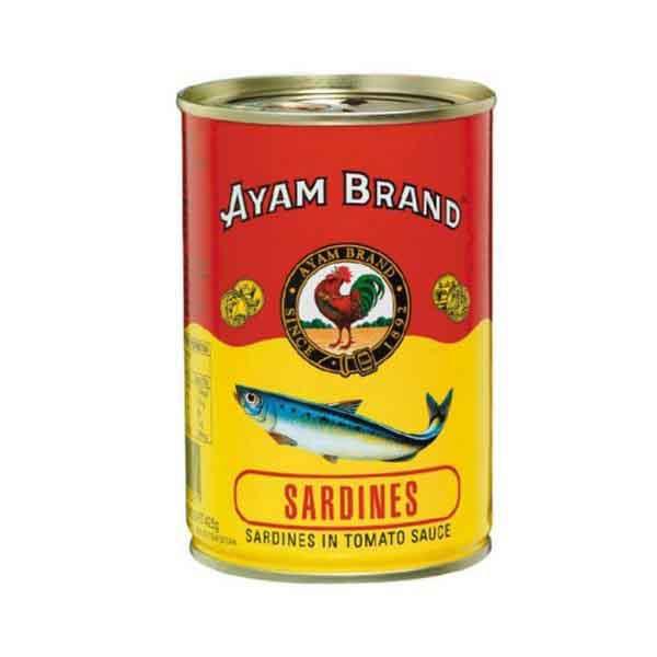 SARDIN AYAM BRAND 425G