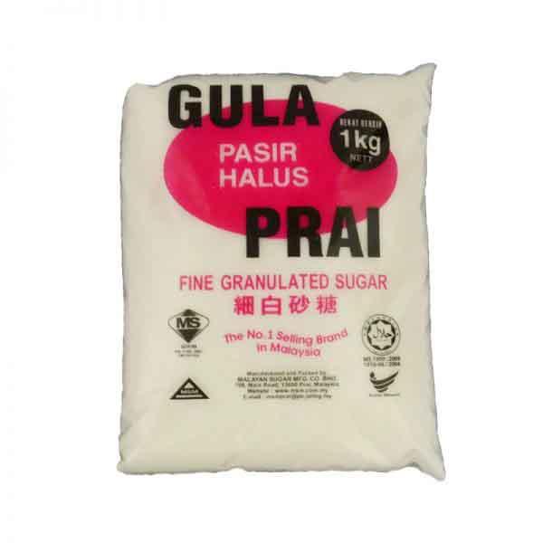 GULA HALUS PRAI 1KG x 24